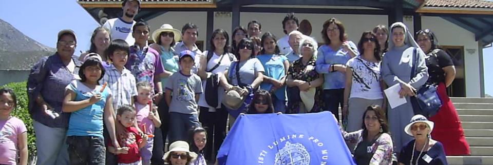Peregrinación con funcionarios de la Pontificia Universidad Católica de Chile